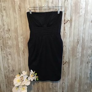 Women's Jetset Black Strapless Cocktail Dress